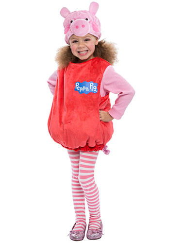 Peppa Pig Toddler Costume Bubble Dress With Hood
