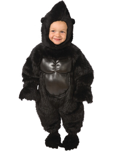 Zoo Animal Silverback Gorilla Toddler Costume
