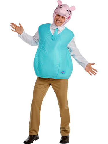 Peppa Pig Daddy Pig Mens Costume