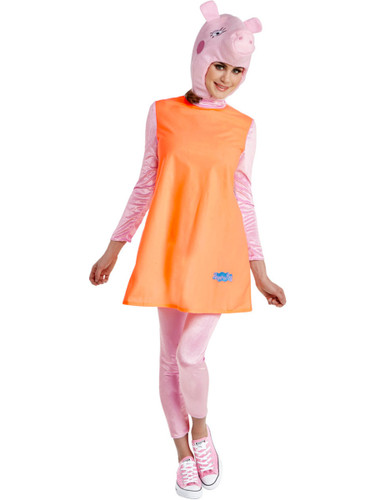 Peppa Pig Mummy Pig Womens Costume