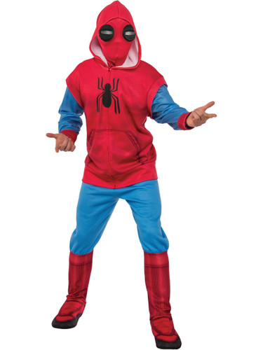 Adult Mens Spider-Man Homecoming Sweats Costume