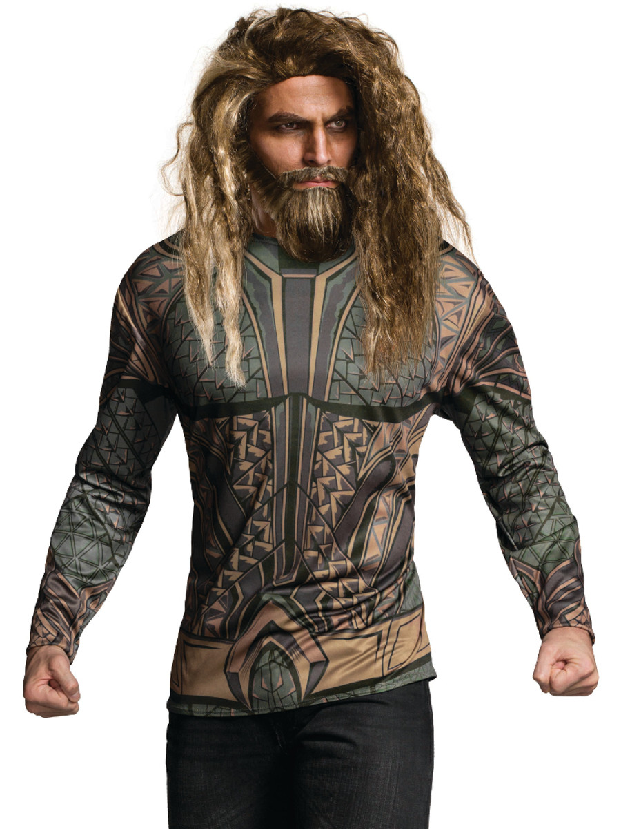 Justice League Aquaman Costume Shirt