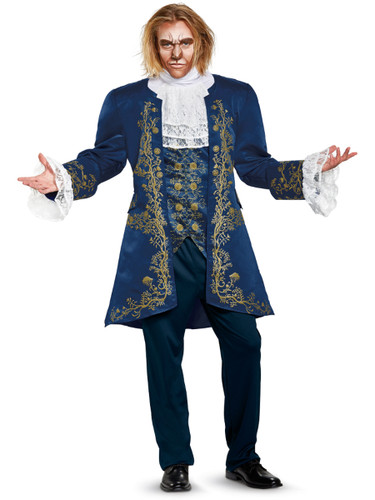 Adult's Mens Prestige Beauty And The Beast Prince Costume