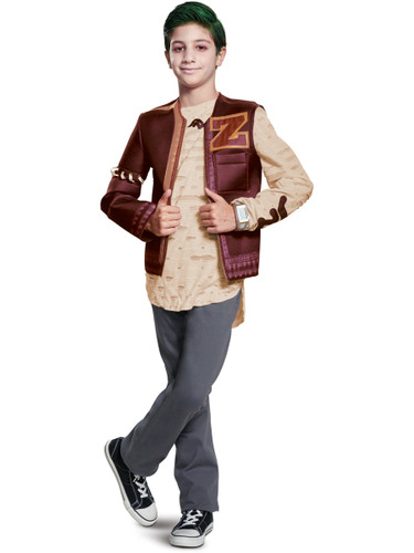 Boys Disney Zombies Zed Deluxe Zombietown Outfit Costume