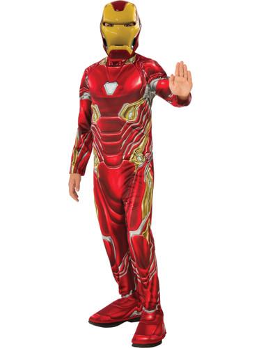 Boys Iron Man Marvel Avengers Infinity War Costume
