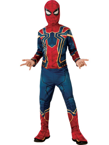 Boys Avengers Infinity War Spider-man Costume