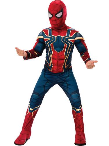 Boys Avengers Infinity War Spider-man Deluxe Costume