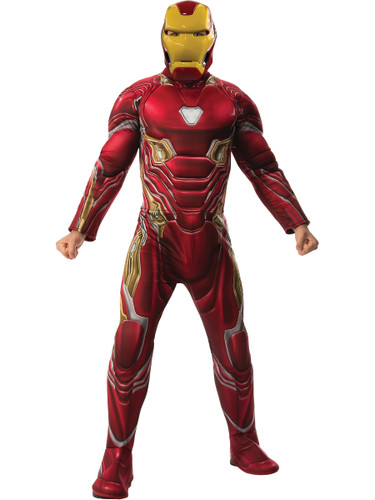 Mens Avengers Infinity War Iron Man Deluxe Costume