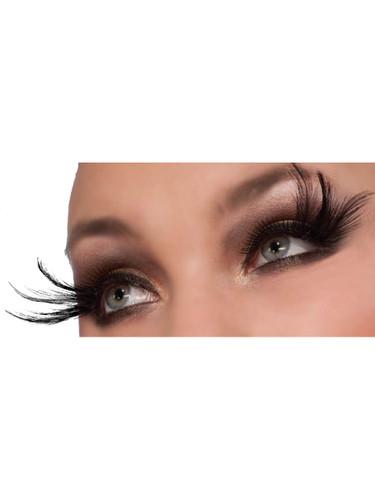 Women's Sexy Black Peacock Costume Eyelashes