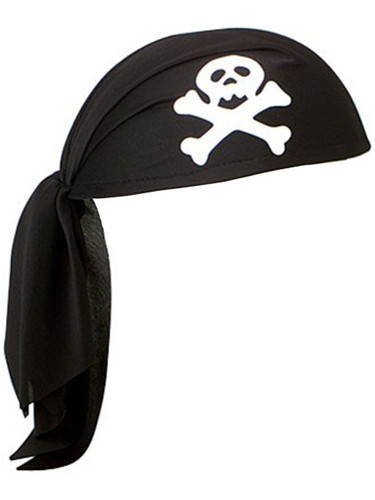 Pirate Skull Scarf Do Rag