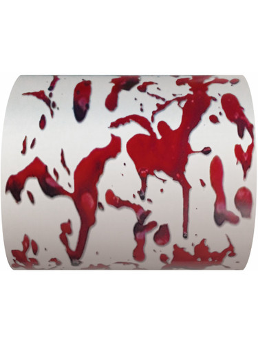 Deluxe Creepy Scary Spooky Bloody Bathroom Toilet Paper Decoration