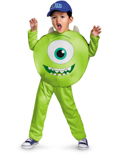 Child Monsters Inc University Mike Costume