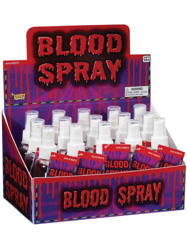 Halloween Horror Costume Liquid Blood Spray Vampire Accessory