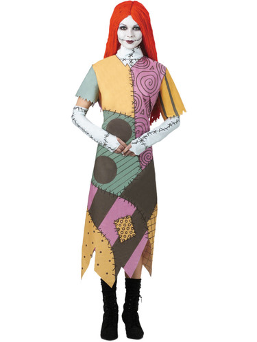Adults A Nightmare Before Christmas Sally Costume