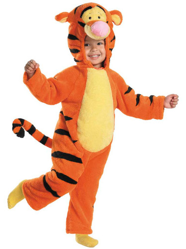 Winnie The Pooh Baby Deluxe Tigger The Tiger Plush Costume