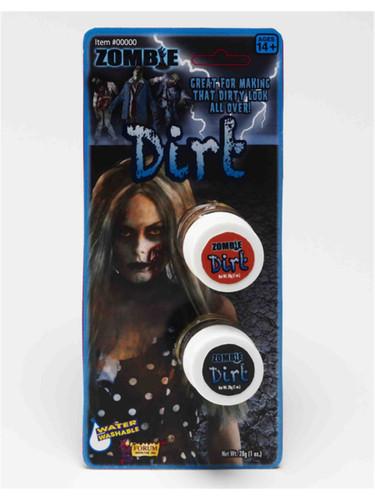 Deluxe Zombie Halloween Costume Grave Dirt Makeup