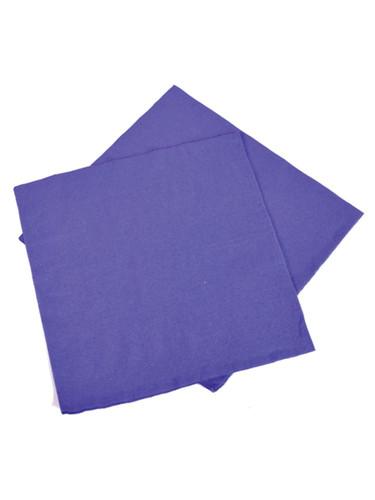 """Lot 50 12.75"""" Purple Lunch Bar Drink Part Decoration Paper Napkins"""