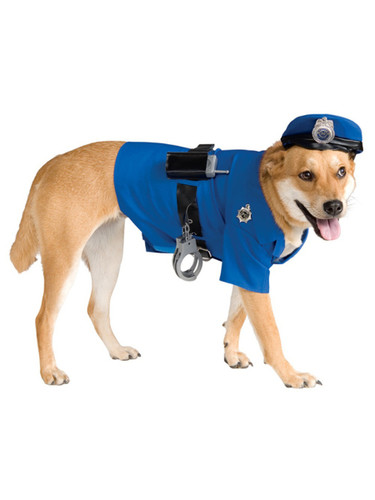 Police Officer Dog K-9 Pet Costumes