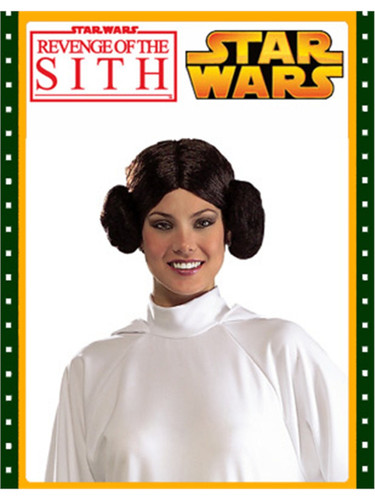 New Star Wars Princess Leia Halloween Costume Wig