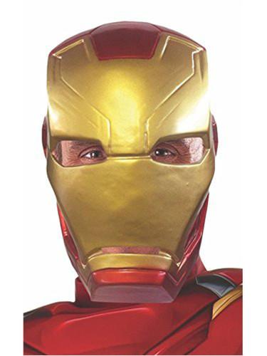 Adult 39 s captain america civil war iron man 1 2 mask - Masque iron man adulte ...