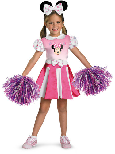 Disney Mickey Mouse Clubhouse Minnie Mouse Cheerleader Costume
