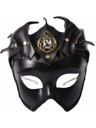 Adults Black Bat Woman Venetian Masquerade Half Mask Costume Accessory