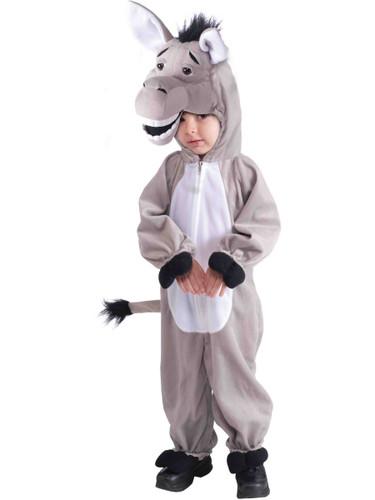 Child's Stuffed Plush Donkey Mascot Costume
