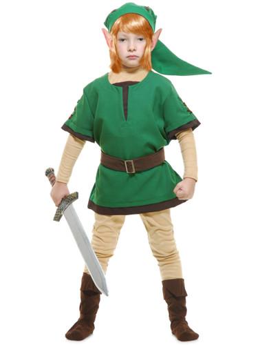 Child's Elf Warrior Costume