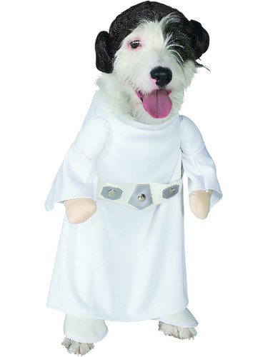 Star Wars Classic Epsidoe IV Princess Leia Pet Dog Costume