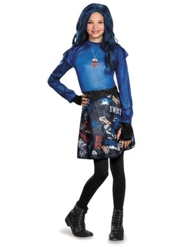 Girls Evie Isle Of The Lost Classic The Descendants Disney Costume