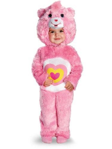 Child's Deluxe Care Bears Wonderheart Bear Plush Costume