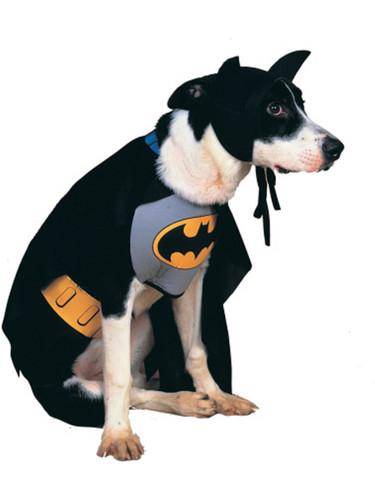 Classic Batman Black And Grey Pet Dog Costumes