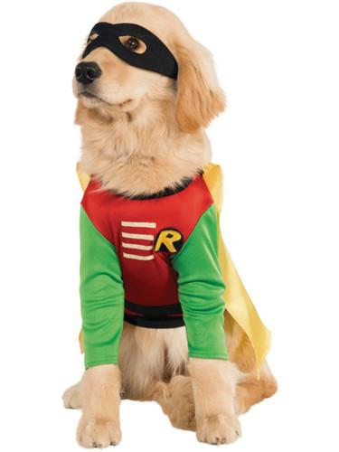 Batman Dark Knight Superhero Hero DC Comics Robin Dog Pet Costumes