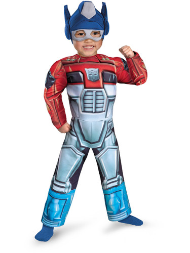 Toddler's Transformers Rescue Bots Optimus Prime Muscle Chest Costume