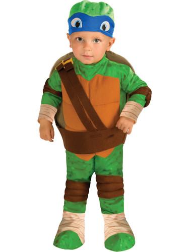 Kids Child Teenage Mutant Ninja Turtles Leonardo Costume