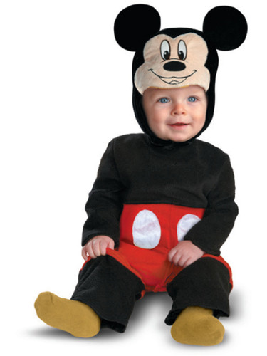 Mickey Mouse Baby Infant Costume Set