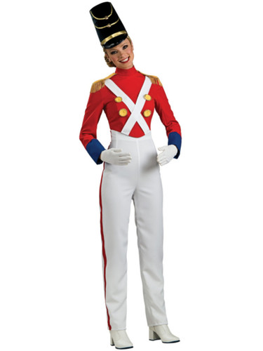 Womens Toy Soldier Nutcracker Christmas Costume