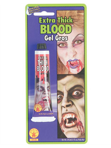Vampire Or Zombie Halloween Costume 1 Ounce Extra Thick Blood
