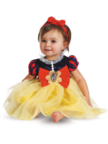 Disney Snow White and the 7 Seven Dwarfs Baby Girls Costume Set