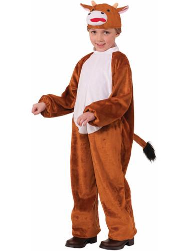 Child Boys Christianity Biblical Nativity Scene Animal Cow Costume