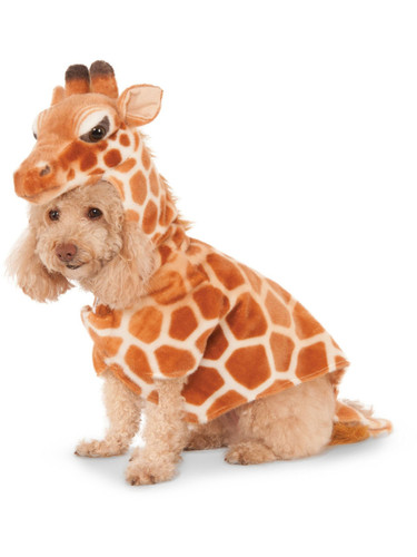 African Safari Giraffe Zoo Animal For Pet Dog Costume