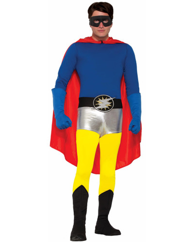 Adults Be Your Own Superhero Super Hero Yellow Pants Costume Accessory
