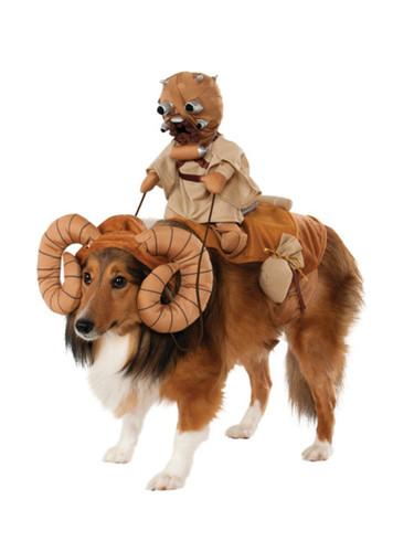 Star Wars Bantha Beast Tusken Raider Desert Sand Dog Pet Costumes One Size