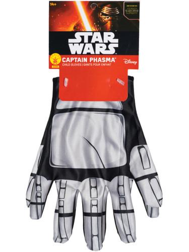 Child's Star Wars Episode VII Captain Phasma Battle Gloves Costume Accessory