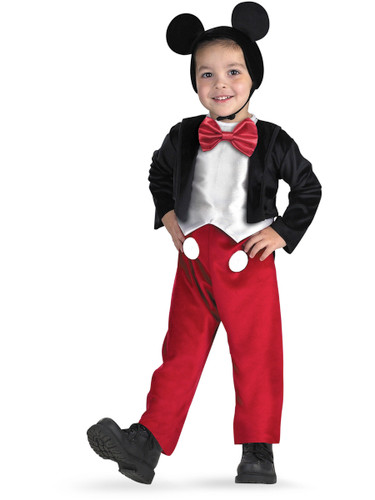 Child Mickey Mouse Deluxe Toddler Costume