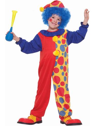 Child Boys Halloween Birthday Economy Clown Costume