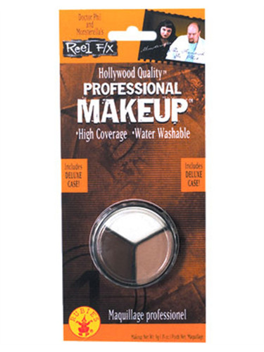 3 Color Water Washable Costume Makeup White Flesh Brown