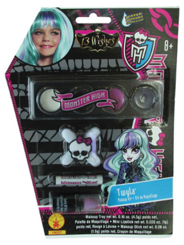 Deluxe Monster High Twyla Costume Accessory Makeup Kit
