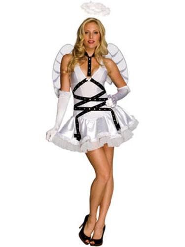 Women's Adult Taste of Heaven Sexy White Angel Costume