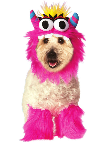 Pink Monster 3 Piece Set Pet Dog Costume